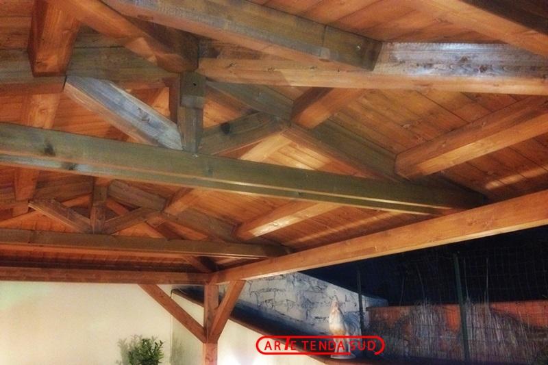 Gazebi in legno gazebo in legno catania messina enna for Arredo sud messina