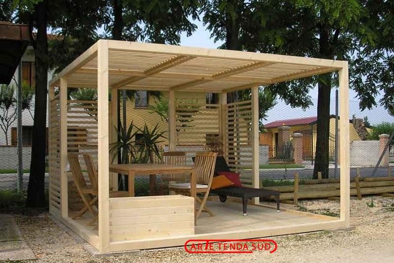 Gazebi in legno gazebo in legno catania messina enna - Gazebo giardino ikea ...